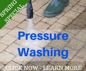 Heavy Hydro Pressure Washing