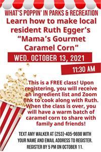 Caramel Corn Class