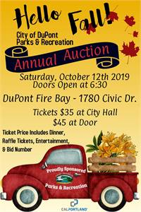 Annual Parks & Recreation fundraising auction